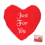 """Just For You Red Heart - 6"""" X 8"""" (Approx )"""