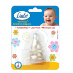Little's Variflow Silicone Nipple Blister Pack of 2