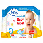 Little's Anti Bacterial - Baby Wipes (80pcs)