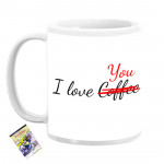 Personalized I Love You Mug & Card