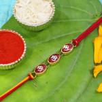 Divine Triple OM Mauli Rakhi