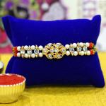 Golden & Pearl Mauli Rakhi