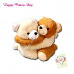 Hugging Teddy (10 Inch)