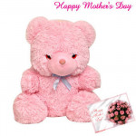 "Pink Soft Teddy - Pink Soft Teddy 12"" and Card"