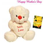 "Cute Teddy with Love - Cute Teddy with Love 10"" and Card"