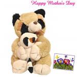 "Mama with Baby Teddy - Mama with Baby Teddy 8"" and Card"