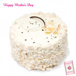 White Forest Cake 1 Kg and Card