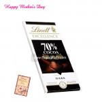 Lindt Excellence 70% Cocoa Chocolate