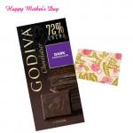 Godiva Chocolatier - Dark Chocolates 100 gms