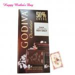 Godiva Chocolatier - Dark Chocolate Sea Salt 100 gms