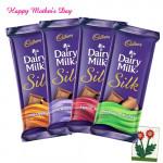 Dairy Milk Silk - 4 Pcs 60 grams each