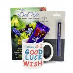 Joy of Luck - Personalized Mug, Parkar Beta Standard Pen, Dairy Milk Fruit & Nut and Card
