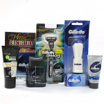 Oh My Love - Gillette Series After Shave Splash, Gillette Shave Brush, Gillette Series Shave Gel, Gillette Mach3 Razor, Garnier Face Wash and Card