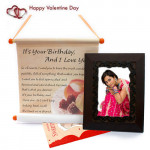 Scroll of Love - Love Scroll, Photo Frame and Card