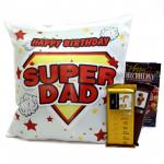 Cushiony Duo - Happy Birthday Cushion, 2 Temptations and Card