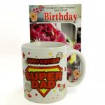 Mug For Dad - Happy Birthday Mug and Card