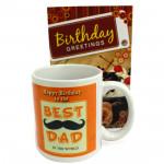 Father's Mug - Happy Birthday Mug and Card
