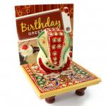 Ganpati - Ganesh Chowki and Card