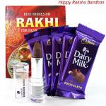 Enriched - Lakme Enrich Satin Lipstick, 5 Dairy Milk and Card