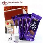 Lakme Milky - Lakme Enrich Satin Lipstick, 5 Dairy Milk and Card