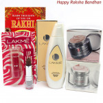 Lakme Combo - Lakme Perfect Radiance Intense Whitening Night Creme, Lakme Fruit Moisture Peach Milk Moisturizer, Lakme Absolute Perfect Radiance Skin Lightening Day Cream with Sunscreen, Lakme Enrich Satin Lip Color