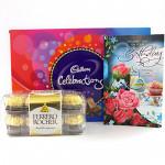 Rocher Celebration - Cadbury Celebration, Ferrero Rocher 16 Pcs and Card