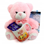 Soft Milky Mug - Happy Birthday Mug, 2 Dairy Milk, Teddy 10 inches and Card
