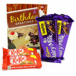 Crackle Crunch - 2 Crackle, 2 Kitkat and Card