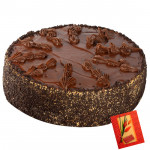 2 Kg Chocolate Cake & Card