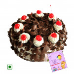 2 Kg Black Forest (Eggless) & Card
