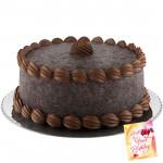 Five Star Bakery - Chocolate Truffle Cake 2 Kg & Card