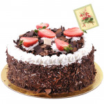 Five Star Bakery - 2 Kg Blackforest Cake & Card