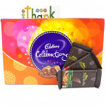 Dark Celebration - Cadbury Celebrations, 3 Bournville and Card