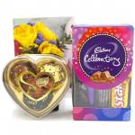 Mini Chocs - Only's Chocolates 3 Pcs, Mini Celebrations and Card