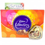 Only Celebrations - Only's Chocolates 3 Pcs, Cadbury Celebrations and Card