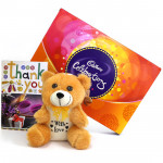 Soft Celebration - Cadbury Celebrations, Teddy 6 inch and Card