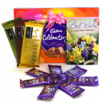 Celebrating Temptation - Cadbury Celebrations, 3 Temptations, 7 Dairy Milk and Card