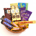You Are Special - 2 Ferrero Rocher 4 Pcs, Temptations, 2 Snicker, Toblerone, 2 Dairy Milk Silk, 3 Five Star and Card