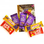 A Little Love - 3 Dairy Milk, 2 Five Star, 2 Kit Kat and Card