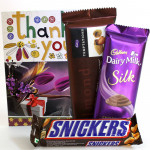 Care for Love - Dairy Milk Silk, Temptations, Snickers and Card