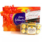 Rochery Celebration - Cadbury Celebrations, Ferrero Rocher 16 Pcs and Card