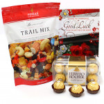 Couthy Treat - Rosta Trail Mix 340 gms, Ferrero Rocher 16 Pcs