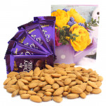 Love Struck - Almonds, 5 Dairy Milk