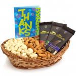 Dark Nutty - Almonds & Cashews, 3 Bournville