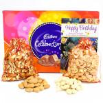 Vast Joy - Almonds in Potli, Cashews in Potli, Cadbury Celebrations