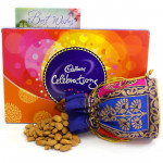 Popular Celebration - Almonds in Potli (D), Cadbury Celebrations