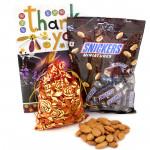 Badami Minis - Almonds in Potli, Snickers Miniatures