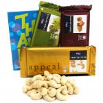 Tempting Kaju - Cashewnuts, 3 Temptations