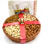 Assorted Divinity - Assorted Dryfruits in Basket, Ganesh Idol