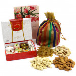 Mix Potli - Assorted Dryfruit in Potli (D), Kaju Mix 250 gms